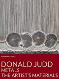 Donald Judd: Metals (Artist's Materials)