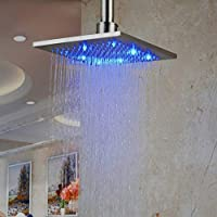 Hiendure LEDシャワーヘッド 8 Inches 98955