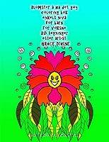 Blomster Å Ha Det Gøy Coloring Bok