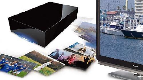 Lacie テレビ用外付けハードディスク  2.0TB 簡単セットアップガイド&1.5mUSBケーブル付き LCH-DB2TUTV