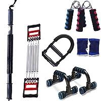 体重運動器具、家庭の男性と女性の腕の腹部運動器具を失うグリップ多機能プーラースーツ (色 : B, サイズ さいず : 40KG)