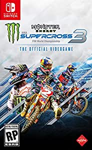 Monster Energy Supercross - The Official Videogame 3 (輸入版:北米) – Switch