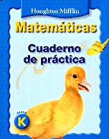 Math, Grade K Practice Book: Houghton Mifflin Math Spanish (Hm Spanish Math National 2007)