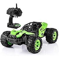 Ruuc すべての地形オフロードモンスタートラック時間車のおもちゃの少年少女最新2.4GHzの学位キッズ4WD子供の大人のためのリモートコントロールカー1/12スケールRCカーの高速トラック