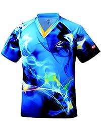 ニッタク(Nittaku) 男女兼用 卓球 ユニフォーム スカイマジカルシャツ NW2162 ブルー(09)