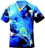 ニッタク(Nittaku) 男女兼用 卓球 ユニフォーム スカイマジカルシャツ NW2162 ブルー(09) M