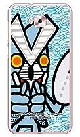 [ZenFone 4 Selfie ZD553KL/MVNOスマホ(SIMフリー端末)専用] スマートフォンケース ウルトラマンシリーズ バルタン星人 ズームウェーブ (クリア) MAS4SF-PCNT-214-V2A4