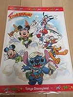 東京ディズニーランド ファインドスティッチ 見開き型 クリアファイル スティッチ ミッキー&ミニー