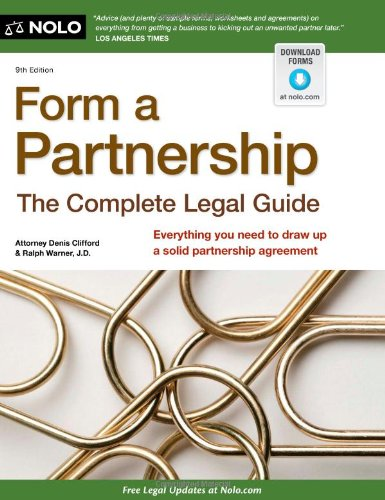 Download Form a Partnership: The Complete Legal Guide 1413313922
