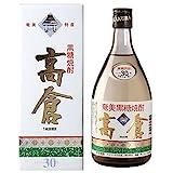 奄美大島酒造 高倉 黒糖 30度 720ml