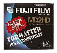Fuji Film Floppy Disk 10 1 Pack Md2hd [並行輸入品]
