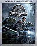 Jurassic World 3D / ジュラシック・ワールド 3D (Blu-ray 3D + Blu-ray + DVD + DIGITAL HD) [北米版]