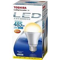 TOSHIBA E-CORE(イー?コア) LED電球(フィンレス構造?口金直径26mm?一般電球形7.2W?白熱電球40W相当?485ルーメン?電球色) LDA7L