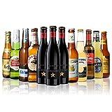 世界のビール12本飲み比べギフトセット スペイン産高級ビール豪華3本入!スペイン・イタリア・ベルギー・オランダなどビール本場より大集結!全種類の商品説明がわかるビールリスト付 (5弾)