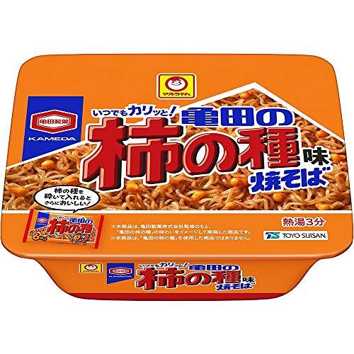 マルちゃん 亀田の柿の種味焼そば 107g ×12個