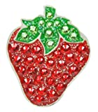 navikaナビカ【スワロフスキー ゴルフボールマーカー strawberry】イチゴ/苺 ハットクリップ付 クリップマーカー