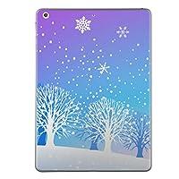 iPad mini4 スキンシール apple アップル アイパッド ミニ A1538 A1550 タブレット tablet シール ステッカー ケース 保護シール 背面 人気 単品 おしゃれ その他 雪 冬 001466