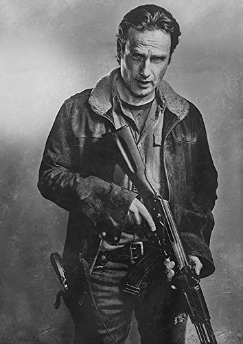 海外ドラマ ウォーキング・デッド ポスター 42x30cm The Walking Dead Norman Reedus Daryl Dixon ノーマン・リーダス ダリル リック・グライムズ アンドリュー・リンカーン [並行輸入品]