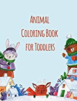 Animal Coloring Book For Toddlers: Stress Relieving Animal Designs (Sport animals)
