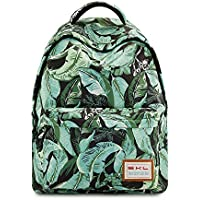Galaxy School Backpack, School Bag Student Stylish Unisex Canvas Laptop Book Bag