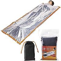 エピオス(Epios) カサカサ音が少ない 静音 サバイバル アルミ 寝袋 200×100cm 寝袋タイプ es