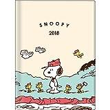 サンスター文具 スヌーピー 手帳 2018年 10月始まり マンスリー A6 ビーグルスカウト S2940663