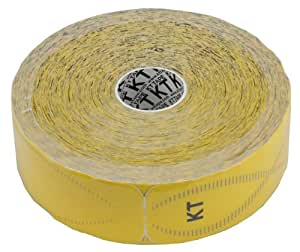 KTTAPE(ケーティーテープ) キネシオロジー テーピングテープ KTTAPEPRO ジャンボロールタイプ 150枚入り ソーラーイエロー KTJR12600