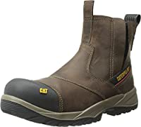 [Caterpillar] Men 's Jointer防水Comp Toe Work Boot カラー: ブラウン