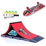 【ノーブランド品】ミニスケートボード ランプアクセサリー 玩具 おもちゃ 1個 A#