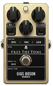 FREE THE TONE GB-1V コンパクトエフェクター オーバードライブ (フリーザトーン GB1V)