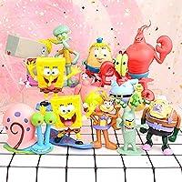 アニメ人形手の車の装飾モデルのおもちゃ家の装飾の贈り物3歳以上のお子様に適しスーツ8