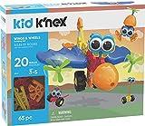 K'NEX キッズウィングとホイールビルディングセット 65ピース 対象年齢3歳以上 就学前教育玩具