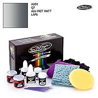 Audi q7/ Alu Met Matt–lap6/カラーNドライブタッチアップペイントシステムペイントチップスクラッチ/ Proパック