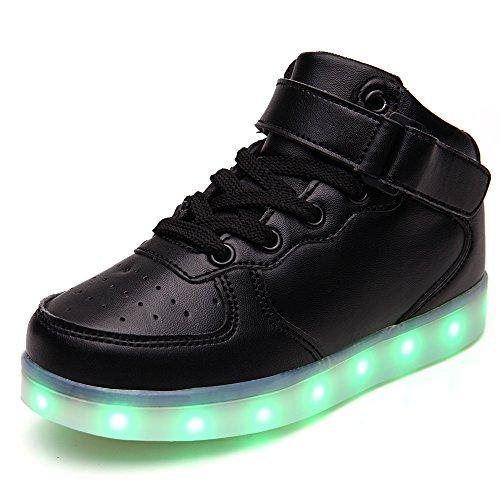 (ウィロース)VILOCYキッズスニーカー LEDライト USB充電 ハイカット 男の子 女の子 発...