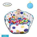 Karida 子供用  ボールハウス ボールプール ボール プレイハウス 子供部屋 おもちゃ 玩具 室内遊具 収納バッグ付き (ボールは含まれていません)