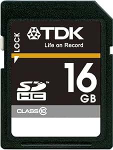 【Amazon.co.jp限定】TDK SDHCカード 16GB Class10 (5年保証) [フラストレーションフリーパッケージ (FFP)] T-SDHC16GB10-FFP