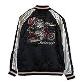 (インディアン モトサイクル)Indian Motocycle ベティーブープ Betty Boop メンズ リバーシブル スカジャン スーベニアジャケット S