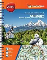 Germany, Benelux, Austria, Switzerland, Czech Republic 2019 - Tourist and Motoring Atlas (A4-Spirale): Tourist & Motoring Atlas A4 spiral (Michelin Road Atlases)