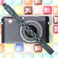 CIESTA d-slr RFミラーレスカメラ本革ハンドメイド手首ストラップMano (Gianoダークグリーン)