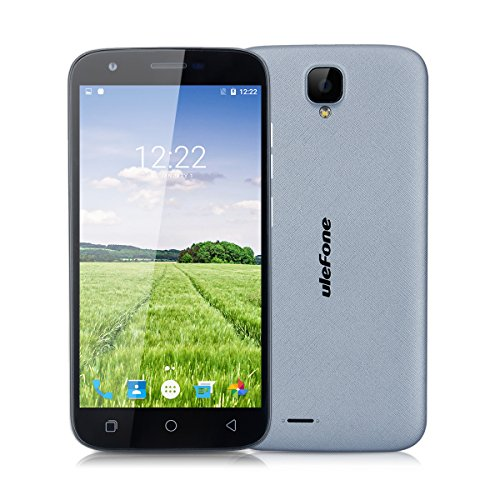 Ulefone U007 pro SIMフリースマートフォン / 5.0インチ / 8GB / MTK6735 / Android 6.0 / LTE (グレー) [並行輸入品]