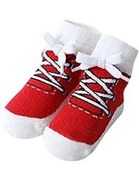 子供ソックス Hosam フロアー ソックス 靴下 シューズまね 面白 屋内 滑り止め 靴下 幼児用 男女兼用