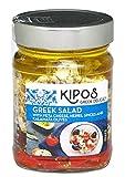 キポス フェタチーズオイル漬け (オリーブ、レッドペッパー入り) 230g(固形量130g)