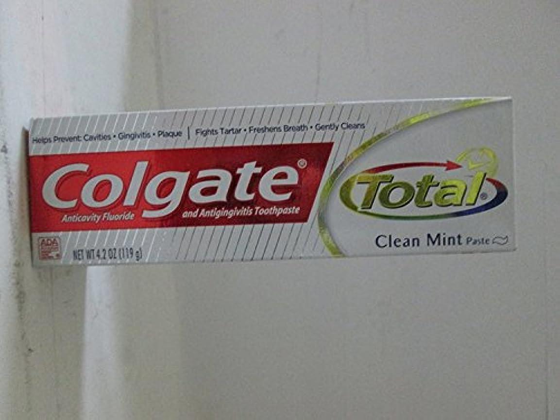 仕様多年生局Colgate 総T / Pクリーンミント4.2オズ、2パック