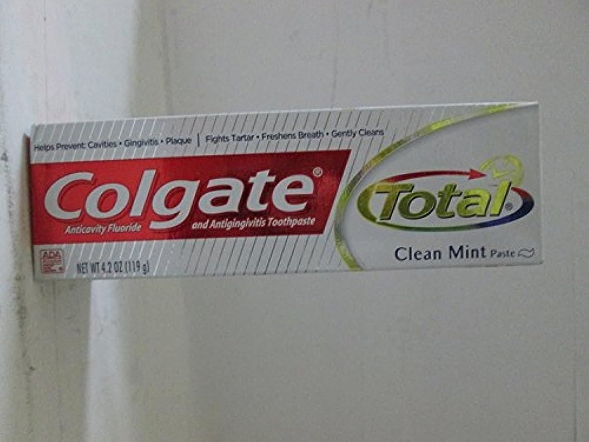 合理化消費者尾Colgate 総T / Pクリーンミント4.2オズ、2パック