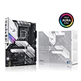 ASUS ROG Strix Z490-A Gaming Z490 LGA 1200(インテル10代目) ATX ホワイトスキームゲーム用マザーボード (12+2 Power Stages, DDR4 4600, Intel 2.5 Gb Ethernet, USB 3.2 Gen 2, Aura Sync)