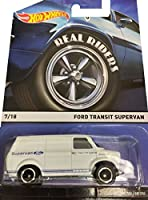 Hot Wheels Real Riders 2015 Heritage Series 7 of 18 Ford Transit SuperVan in White
