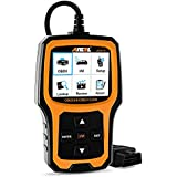 Ancel AD410 Enhanced OBD II Vehicle Code Reader Automotive OBD2 Scanner Auto Check Engine Light Scan Tool (Yellow-Black)