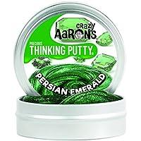 Crazy Aaron's Putty World シンキング パティ プレシャス・ジェムズ シリーズ EU安全規格適合 内容量45g スモールサイズ Made in USA 日本正規代理店品 【 ペルシャン・エメラルド 】 PR011