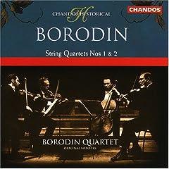 ボロディンSQ演奏 ボロディン:弦楽四重奏曲第1番&第2番の商品写真