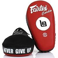Fairtex FMV12 Angular Focus Mitts - Punch Pads Training Muay Thai Boxing MMA K1 フェアテックスエアロフォーカスミット - パンチパッドトレーニングムエタイボクシング